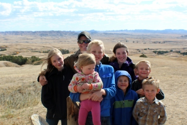 The troops in the Badlands