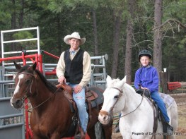 Markus and Tori, on Quincey and Bonnie