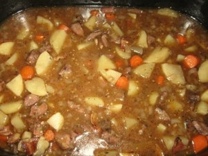 Ram stew...yum!