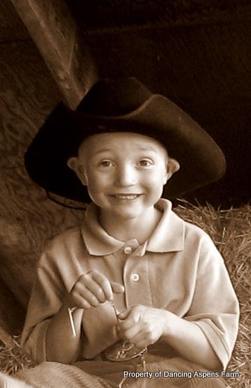 A cute cowboy...