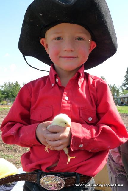 Cowboy Hayden with a chick...