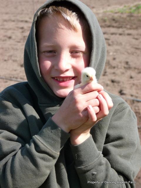 Garrett in chick heaven...
