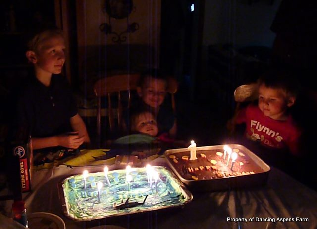 A Birthday Party for all three boys!