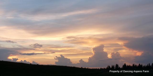 Friday's Sunset...