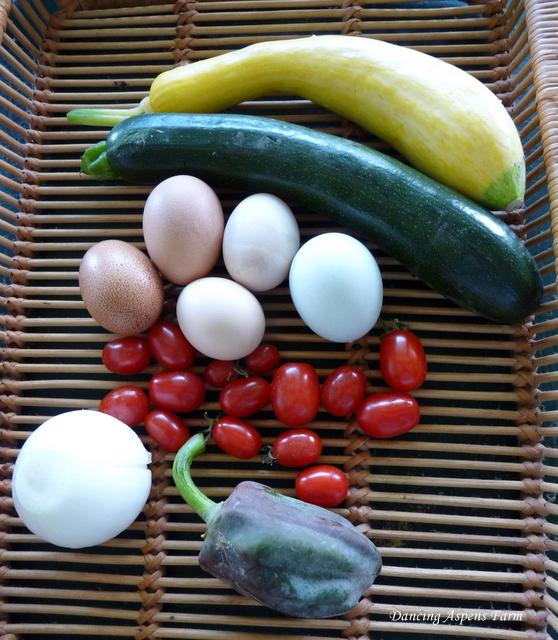 Home grown ingredients...